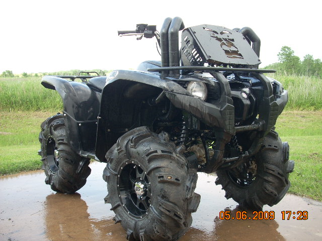 Yamaha Grizzly Snorkel Kit Install